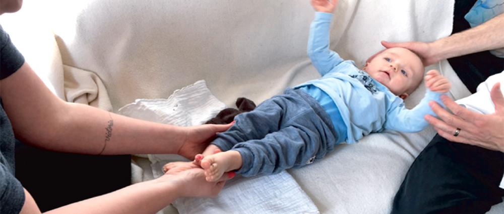 Zoneterapi til babyer og børn - hjemme hos dig