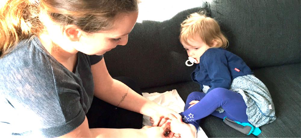 Kiddiezonen - zoneterapi til babyer og børn